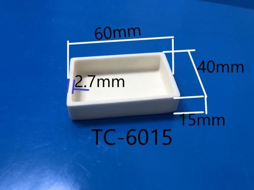 长方形氧化铝坩埚